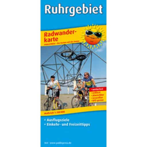 Ruhrgebiet cycling map