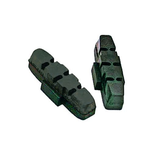 Brake blocks for aluminium rims for HS brake