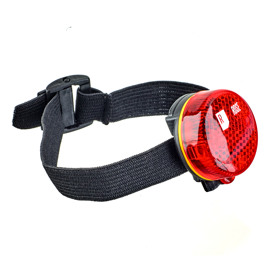 2 LED safety light red