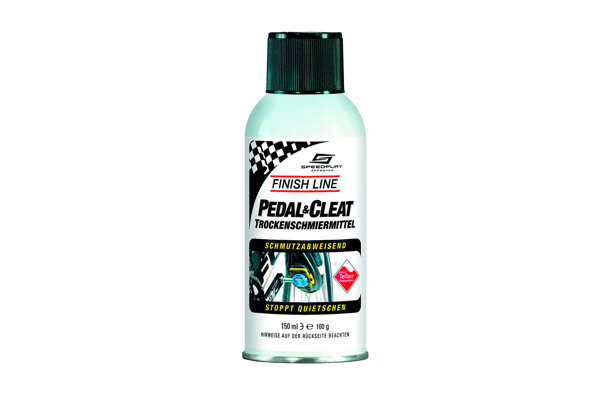 Pedal & Cleat dry film lubricant