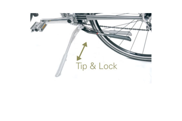 Center-leg Tip & Lock centre stand